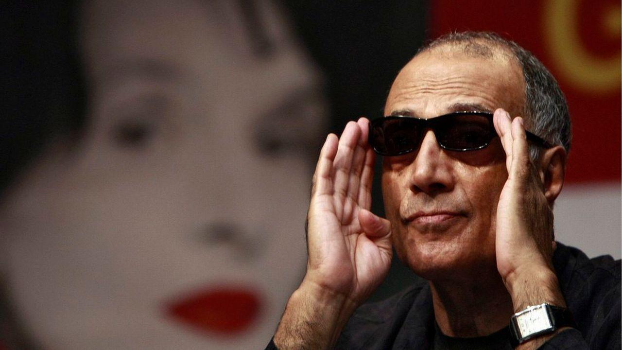 Abbas Kiarostami, lors d'un festival de cinéma en Corée du Sud, en 2010. [Keystone]