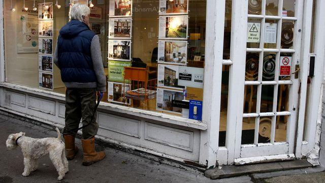 Les craintes d'une chute de l'immobilier londonien a déjà des conséquences. [Kirsty Wigglesworth - AP/Keystone]