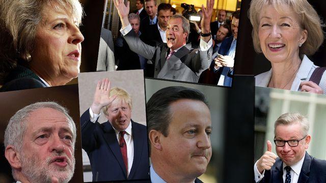Le Brexit a complètement ébranlé le monde politique au Royaume-Uni. [Keystone]