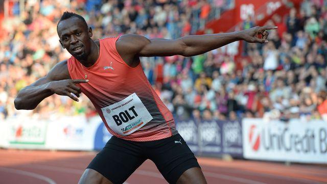 Usain Bolt chez lui en Jamaïque, le 20 mai 2016. [Michal Cizek - AFP]