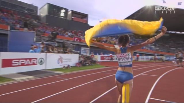 800 m dames: L'Ukrainienne Natalya Pryshchepa surgit de nulle part. Selina Büchel (SUI) finit 4e [RTS]