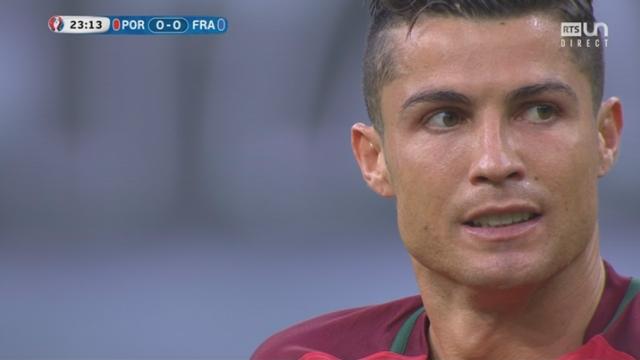 Finale POR-FRA (0-0): coup de tonnerre au Stade de France! Ronaldo, blessé au genou, quitte la pelouse à la 25e minute [RTS]