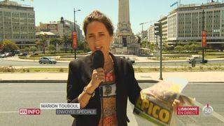 Euro 2016 - Portugal: le point avec Marion Touboul, à Lisbonne [RTS]
