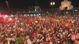 Le Portugal fête son titre de champion d'Europe [RTS]