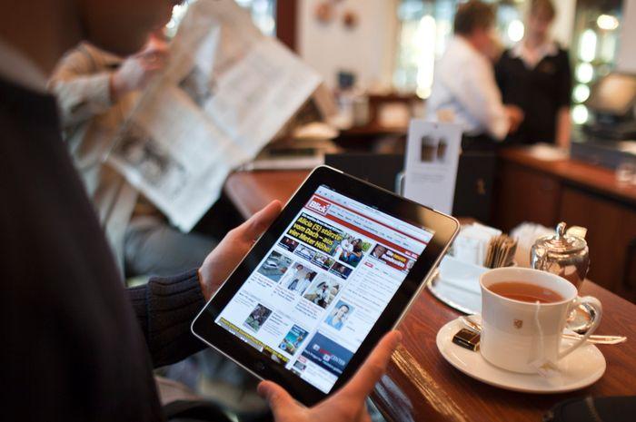 Le Blick est le seul quotidien suisse à être plus consulté sur le web qu'en version papier.
