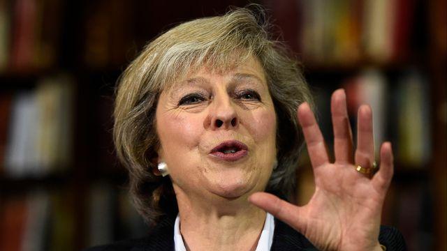 Theresa May aura fort à faire pour négocier au mieux le Brexit. [Dylan Martinez - Reuters]
