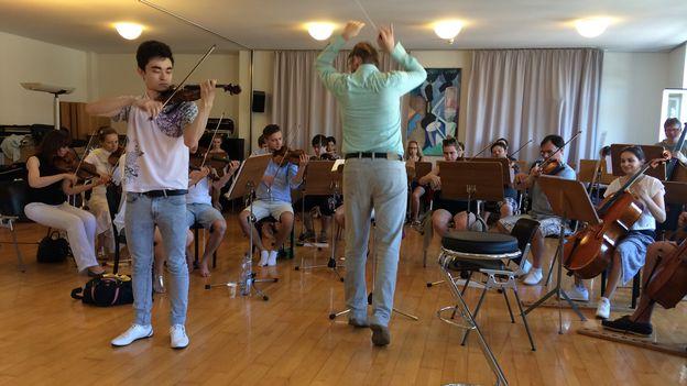 Les jeunes espoirs de la musique classique soutenus par l'Académie de Bienne
