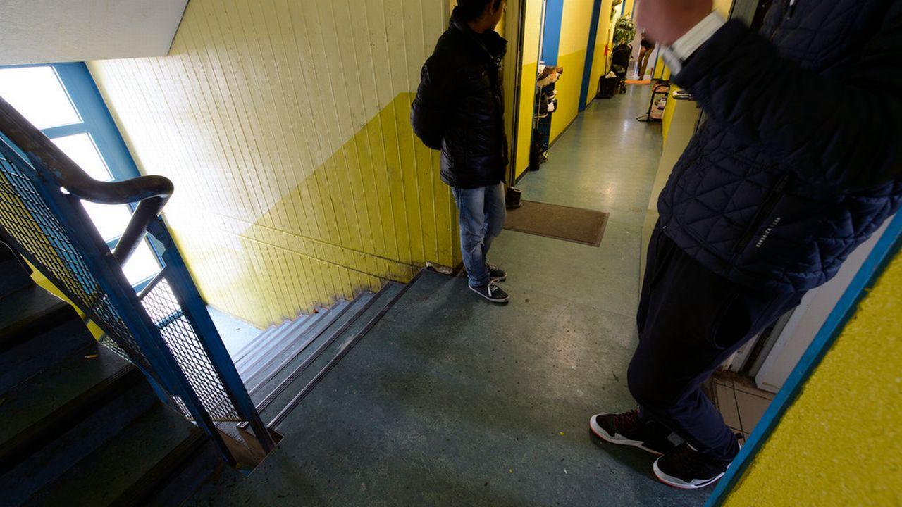 D'après le système de Dublin, un requérant d'asile peut être remis aux autorités du pays où il a déposé sa demande initiale.  [Martial Trezzini - Keystone]