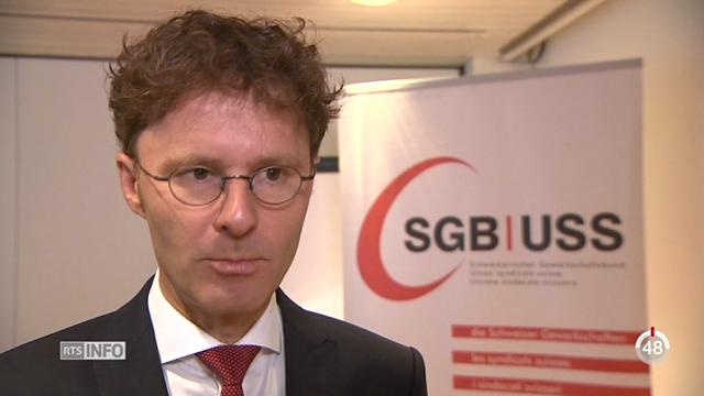 Les disparités sociales augmentent en Suisse selon l'USS [RTS]