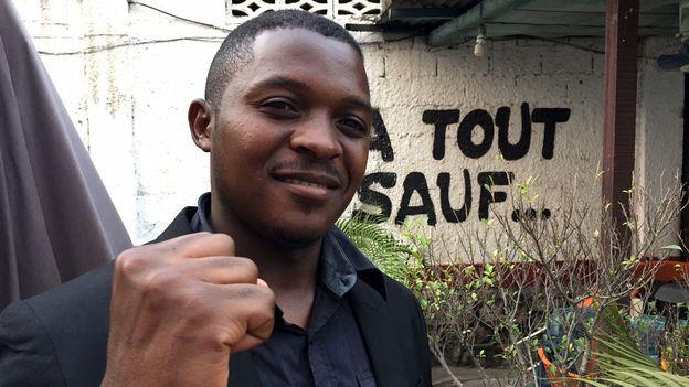 Remy Mumbere Mukweso, militant à la Lucha et… crapaud fou