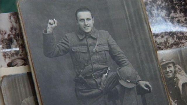Photo d'un brigadiste suisse de la guerre d'Espagne. [RTS]