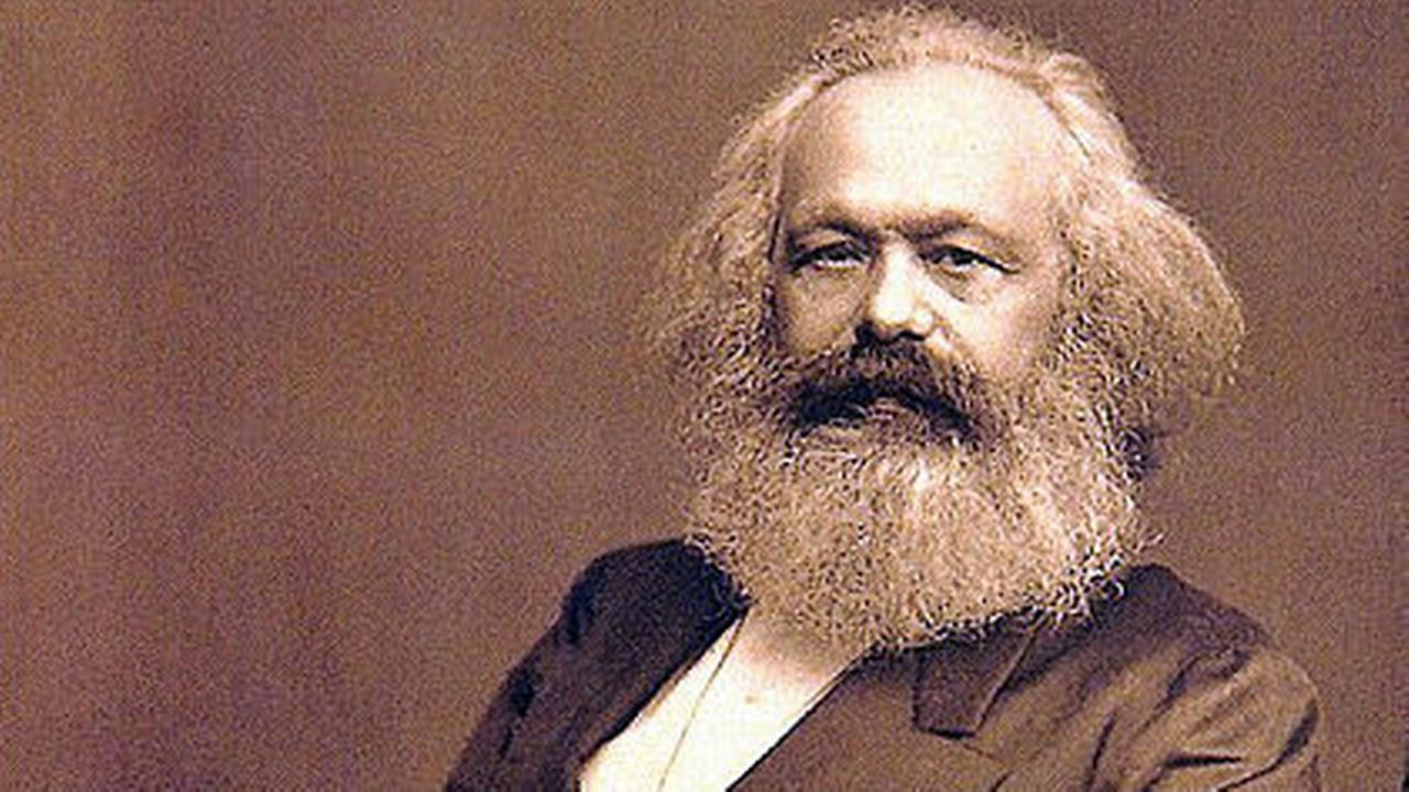 Portrait de Karl Marx. [DP]
