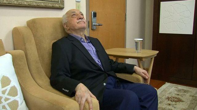 Fethullah Gulen a été interviewé par des médias américains samedi, chez lui en Pennsylvanie. [Greg Savoy - Reuters]