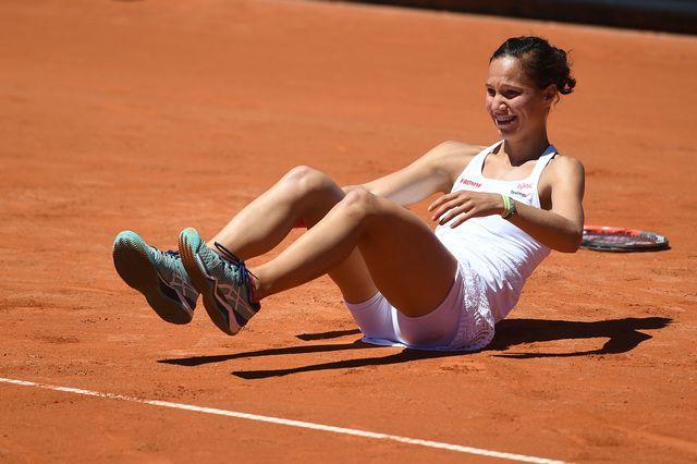 Golubic disputait à 23 ans sa première finale sur le Circuit WTA. [Valeriano Di Domenico - EQ]