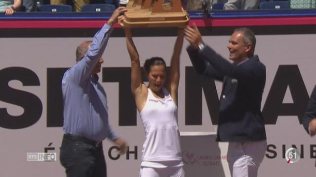 Tennis - WTA Gstaad: Golubic s'est imposée en finale face à Bertens [RTS]