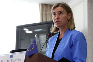La chef de la diplomatie européenne Federica Mogherini a condamné les propos de Recep Tayyip Erdogan.