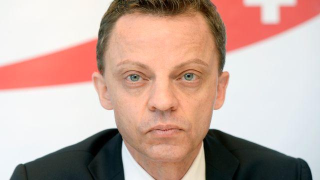 L'UDC zurichois Hans-Ueli Vogt. [Walter Bieri - Keystone]