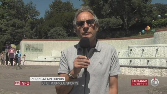 Sort de la délégation russe au JO de Rio: les précisions de Pierre-Alain Dupuis à Lausanne [RTS]