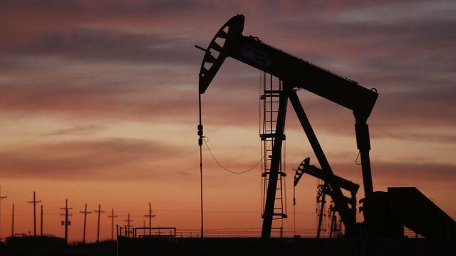 Puits de pétrole. [Spencer Platt - AFP]