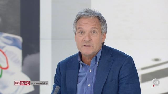 Décisions du CIO à propos de la délégation russe: le point avec Pierre-Alain Dupuis à Lausanne [RTS]