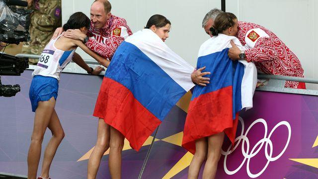 Les 68 athlètes russes qui avaient fait appel ne participeront pas aux JO de Rio. [Sergei Grits - AP/Keystone]