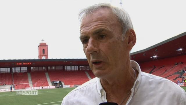 Football: les entraîneurs de NE Xamax et de Servette affichent leurs ambitions [RTS]