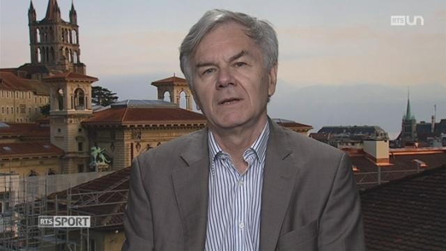 JO 2016 - Russie: entretien avec Jean-Loup Chappelet, professeur IDHEAP Université Lausanne (2-2) [RTS]