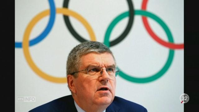 JO de Rio: le CIO a pris la décision de ne pas exclure la Russie [RTS]