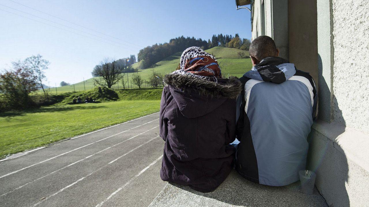 La prise en charge psychologique des migrants est encore largement insuffisante en Suisse. [Peter Schneider - Keystone]