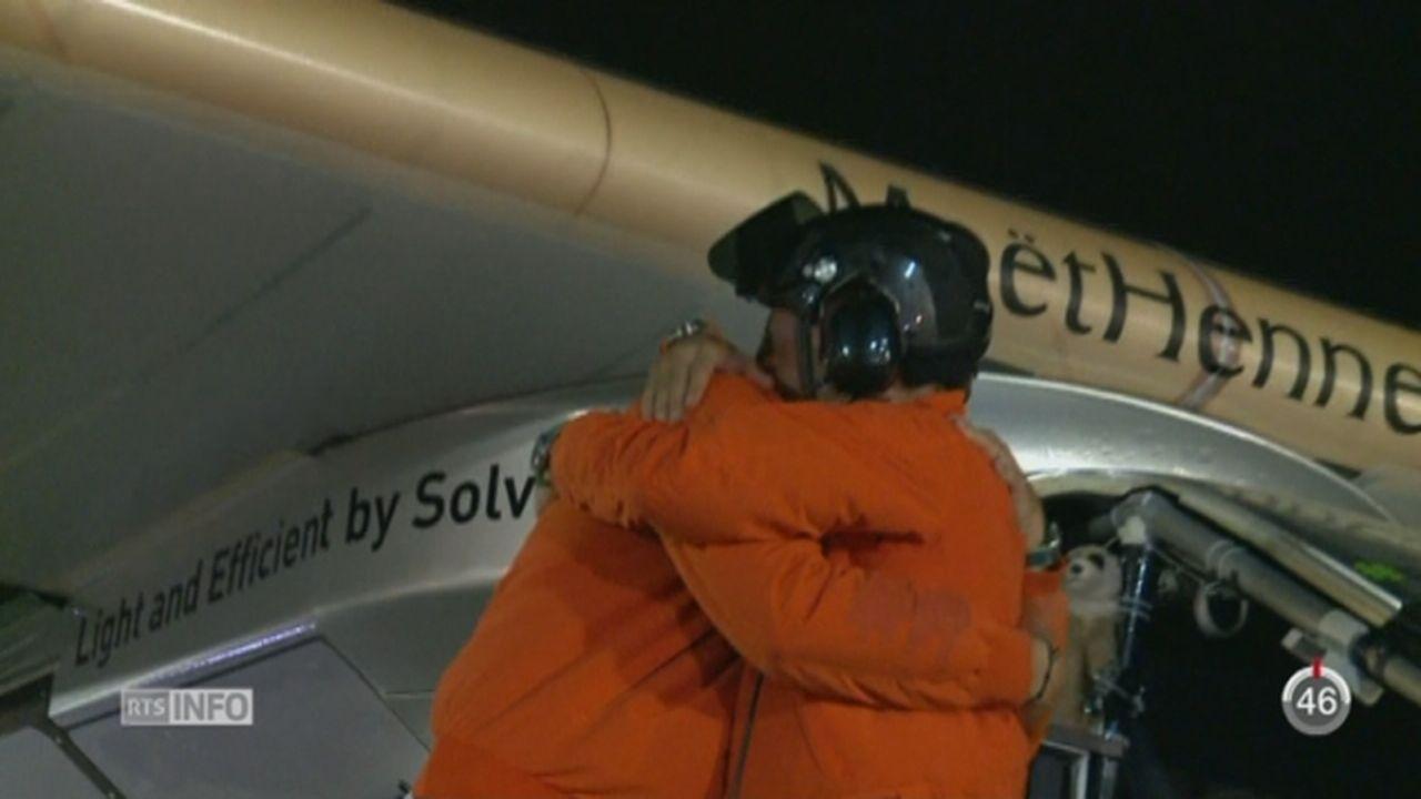 Solar Impulse a bouclé son tour du monde [RTS]