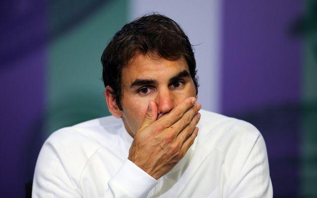 Federer doit déclarer forfait pour les JO. [Gary Hershorn - Keystone]