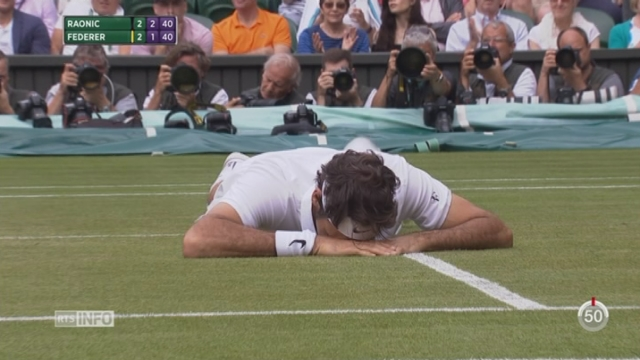 Roger Federer est forfait pour les Jeux Olympiques de Rio [RTS]