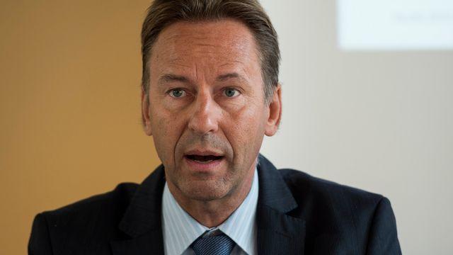 Le ministre neuchâtelois de la Justice et de la Sécurité Alain Ribaux. [Peter Schneider - Keystone]