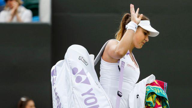 En retard sur sa préparation, Belinda Bencic a préféré ne pas se rendre aux Jeux de Rio. [Peter Klaunzer - Keystone]