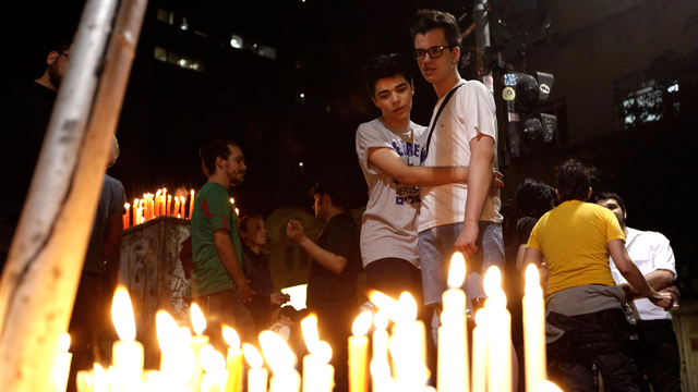La violence contre les homosexuels sévit particulièrement au coeur des grandes villes brésiliennes, comme à Sao Paulo. [Nacho Doce - Reuters]