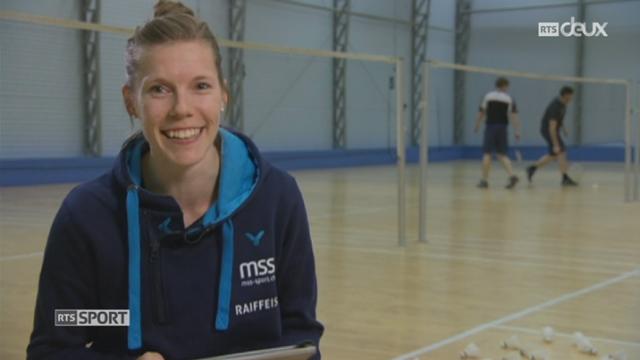 Badminton: Sabrina Jaquet est l'unique représentante suisse en lice pour les JO de Rio [RTS]
