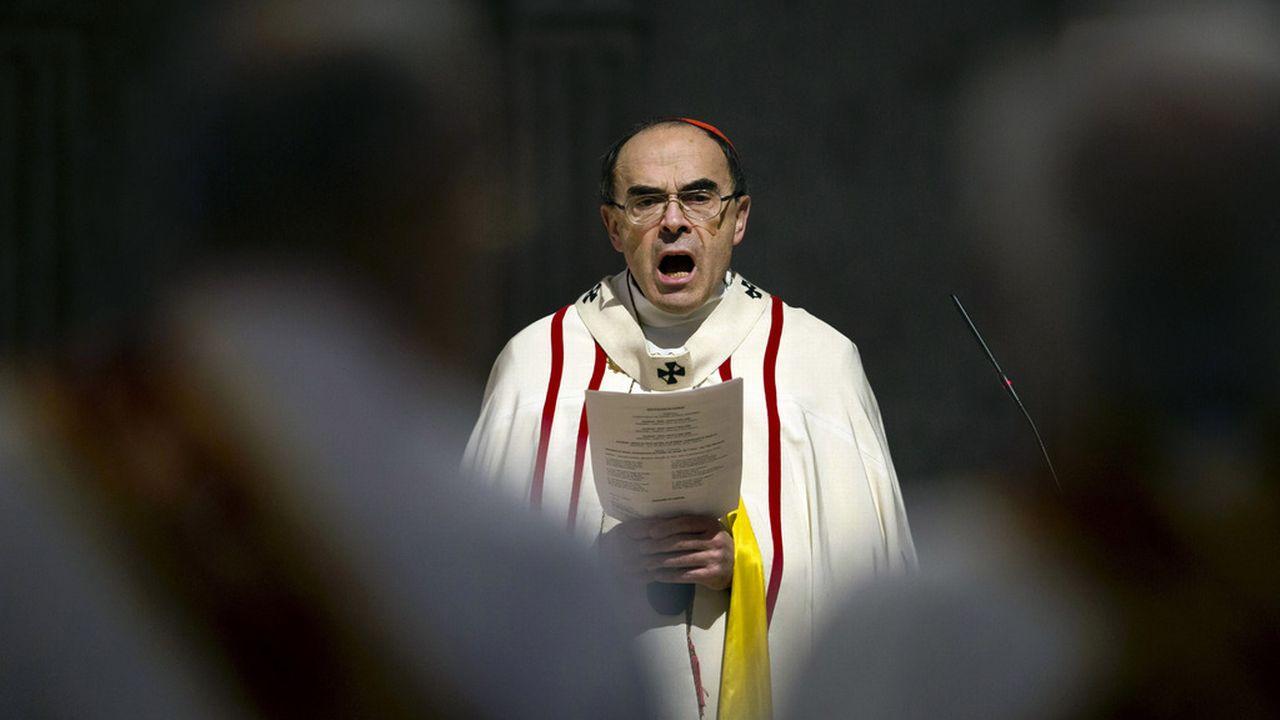 L'enquête contre le cardinal de Lyon Philippe Barbarin, ici en avril 2016, a été classée sans suite. [Laurent Cipriani - AP]