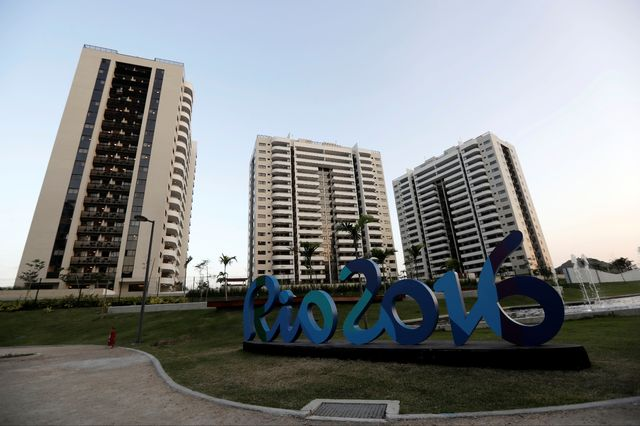 Le village olympique de Rio 2016. [Ricardo Moraes - Reuters]
