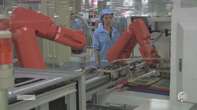 Chine: les robots remplacent de plus en plus d'emplois [RTS]