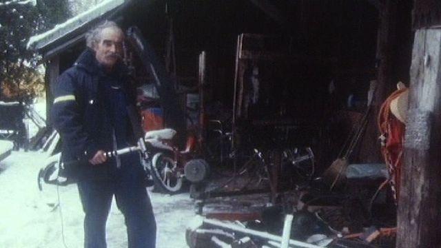 Jean Tinguely en 1987. [RTS]