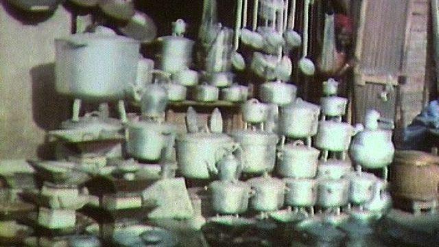 Le recyclage à Dakar en 1981. [RTS]