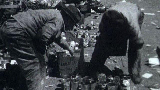 La récupération des déchets en temps de guerre à Lausanne dans les années 40. [RTS]
