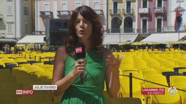 TI - Festival de Locarno: le point avec Julie Evard [RTS]