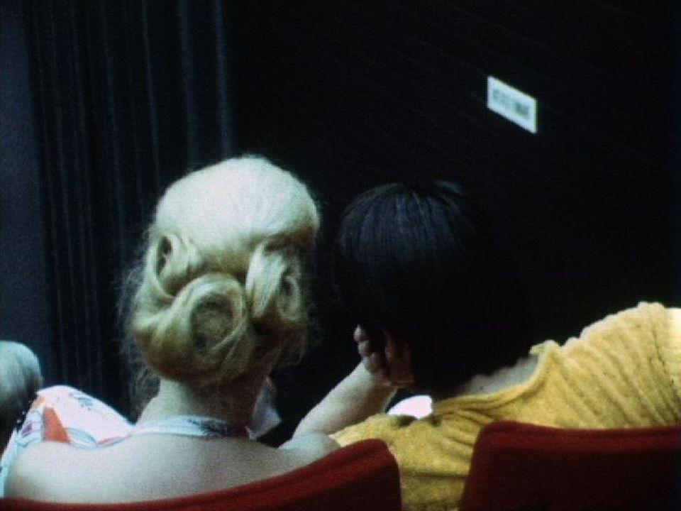 Spectateurs au Festival de Locarno, 1972. [RTS]