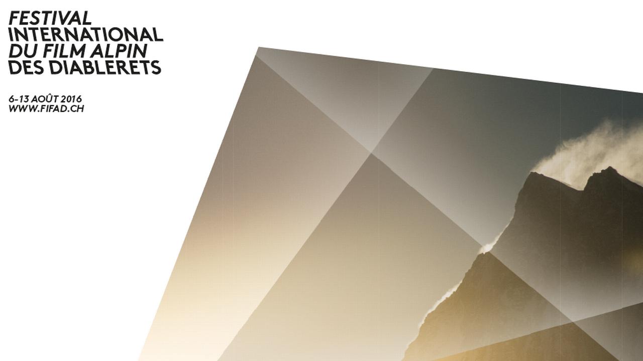 L'affiche du Festival du Film Alpin des Diablerets (FIFAD) 2016. [FIFAD - Facebook]