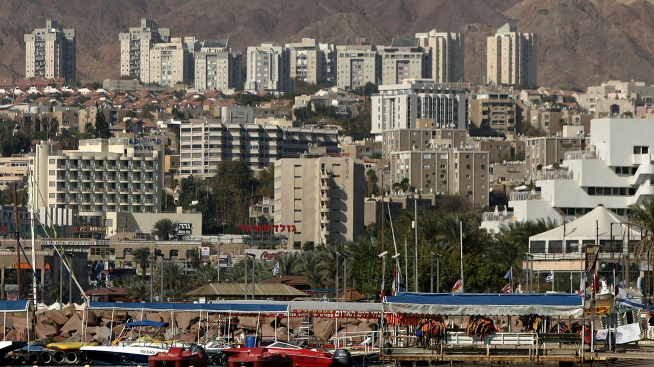 L'accord a débouché sur la construction d'un pipeline reliant le port israélien d'Eilat (photo) jusqu'à celui d'Ashkelon en bord de Méditerranée. [Ariel Schalit - AP/Keystone]