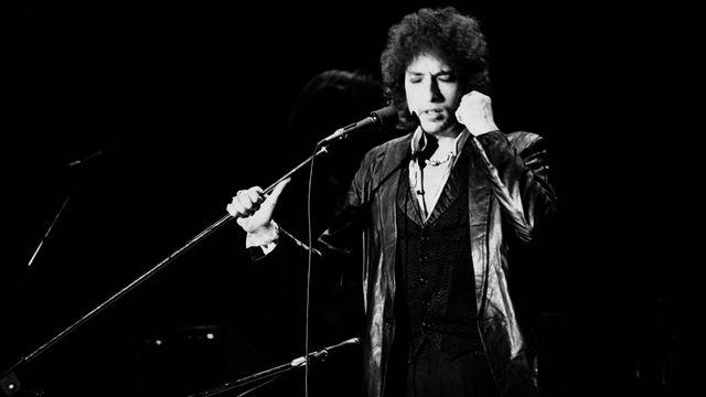Bob Dylan en 1978 à Paris. [Pierre Guillaud - AFP]