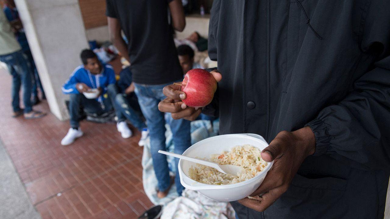 Les migrants mineurs présents à Côme préoccupent Amnesty. [Francesca Agosta - Ti-Press/Keystone]