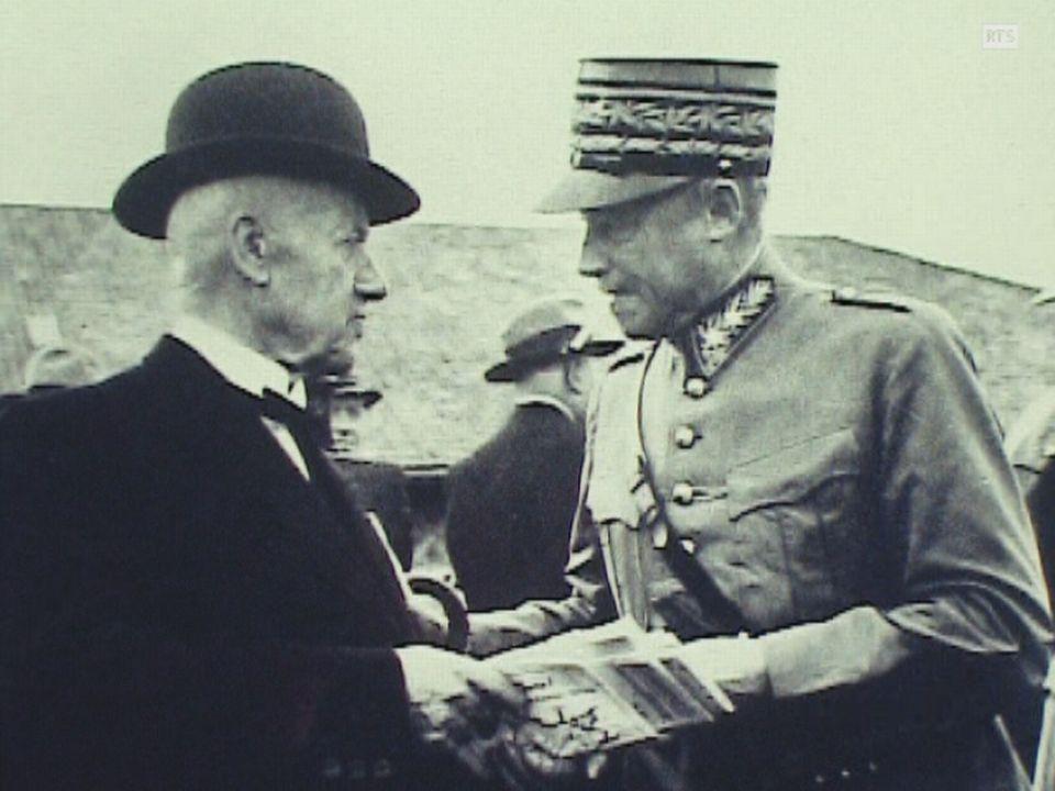 Le général Guisan. [RTS]