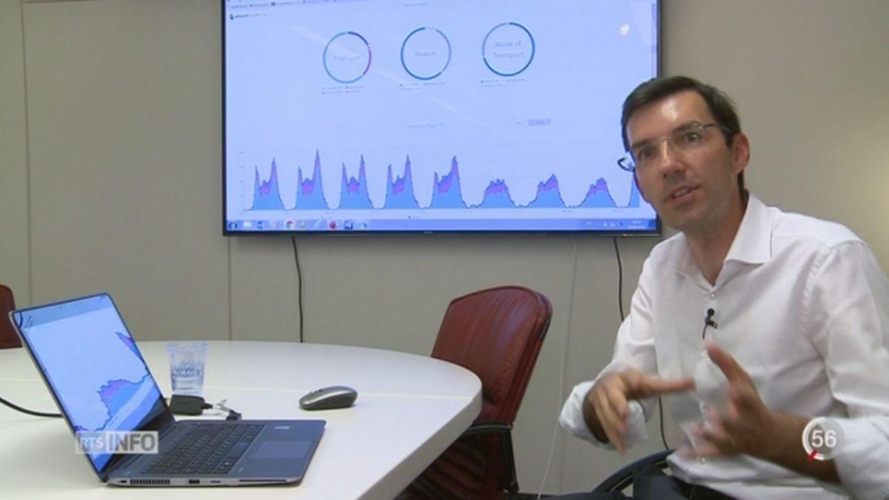 L'EPFL et Swisscom unissent leurs forces pour mesurer la mobilité dans les villes grâce au téléphone mobile [RTS]